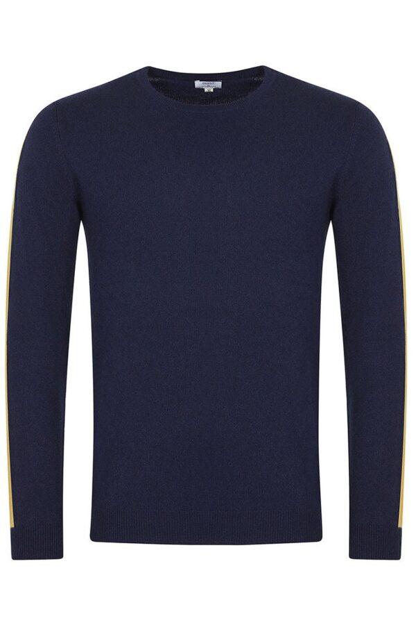 Elm Crew Neck Dark Navy Sweater