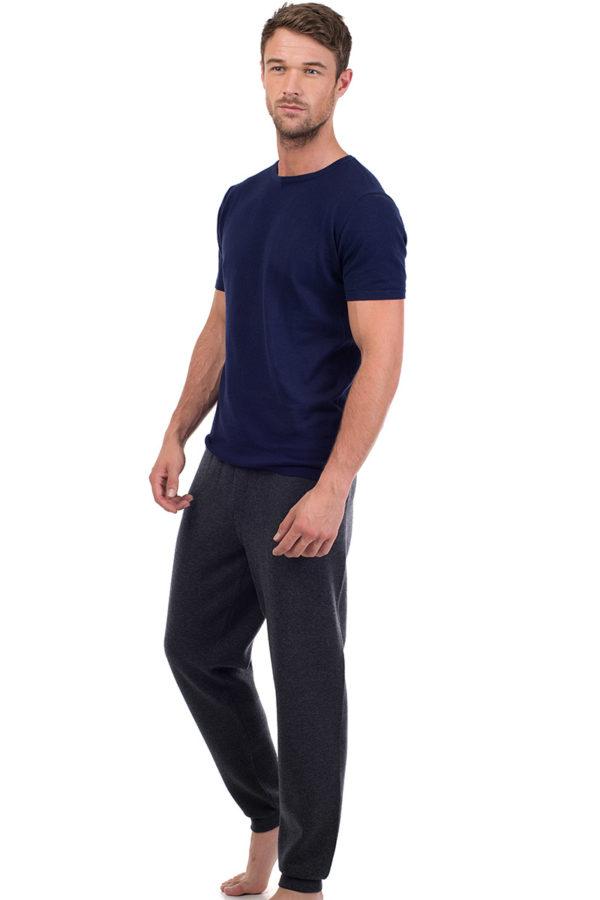 Ark -  Cotton Cashmere T Shirt - Admiral Blue MrQuintessential