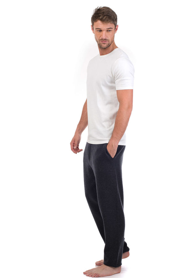 Ark Short Sleeve Cotton Cashmere T- White MrQuintessential